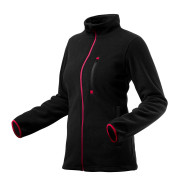 Блуза рабочая флисовая женская черная Woman Line, pазмер 42-44/S Neo