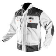 Блуза рабочая HD series, pазмер 56/XL бело-серая Neo  (м)