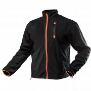 Блуза рабочая флисовая Outdoor series черная, pазмер 50/M Neo
