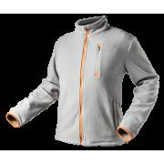 Блуза рабочая флисовая светло-серая, pазмер 56/XL Neo
