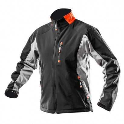 Куртка рабочая водо(5000мм) и ветронепроницаемая Softshell Outdoor series, pазмер 48/S Neo (м)