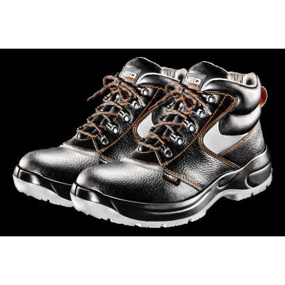 Ботинки рабочие S1 SRA, кожаные стальной носок pазмер 45 Neo