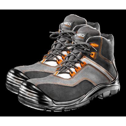 Ботинки рабочие S3 SRC, замша композитный носок pазмер 43 Neo