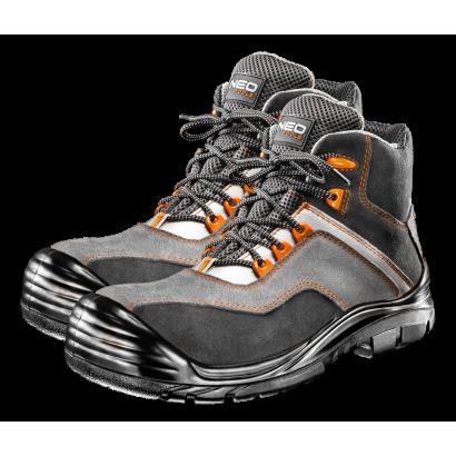 Ботинки рабочие S3 SRC, замша композитный носок pазмер 44 Neo