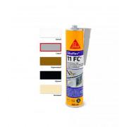 Клей-герметик полиуретановый 300мл 11FC+ черный Sikaflex под заказ (EUR1)