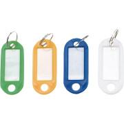 Бирки для ключей, набор 12 шт. Top tools