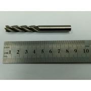 Фреза по металлу концевая ф 8,0 Р6М5 ц/хв удлиненная ИНРЕКО