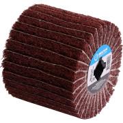 Насадка для шлифмашины MEKKAN MK81206 щетка наждачная бумага/нейлон коробка